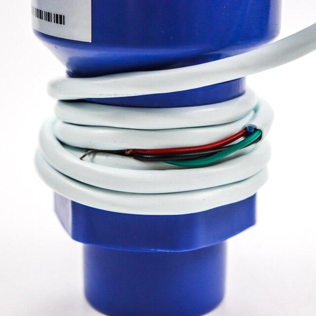 Ultraschall Ebene Sender Flüssigkeit Öl Kraftstoff Messung 4-20mA Ausgang Wasser Tank Ebene Anzeige Ultraschall Level Sensor Meter