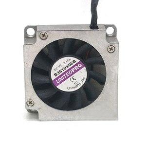 Image 1 - 2 pcs/4 pcs UNITEDPRO In Miniatura Ventilatori Ventole Scheda Principale di Raffreddamento Ventole B3510X05B 5V 0.15A 3.5 centimetri Lato dispositivo di raffreddamento