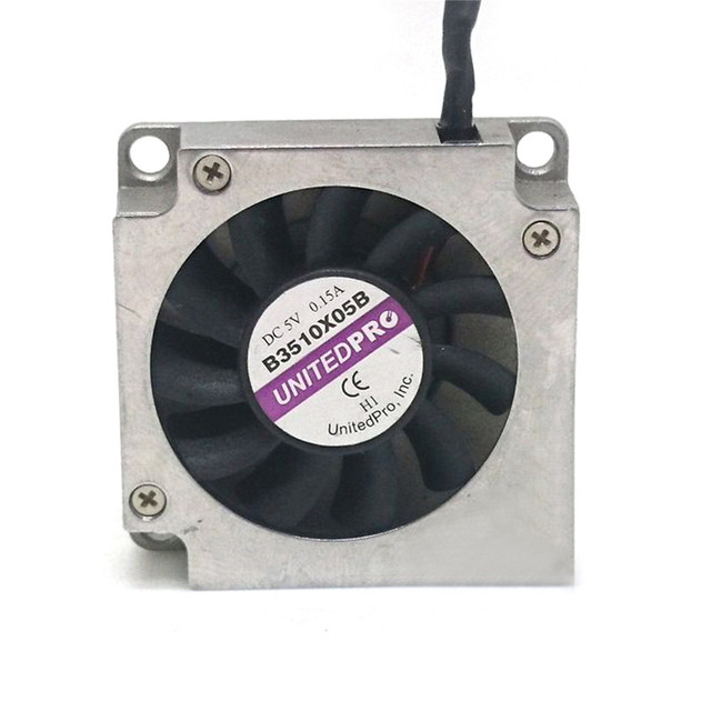2 pcs/4 pcs UNITEDPRO In Miniatura Ventilatori Ventole Scheda Principale di Raffreddamento Ventole B3510X05B 5V 0.15A 3.5 centimetri Lato dispositivo di raffreddamento