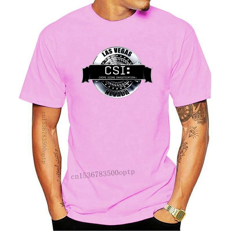 Csi – t-shirt pour adulte avec Logo rendu, sous licence