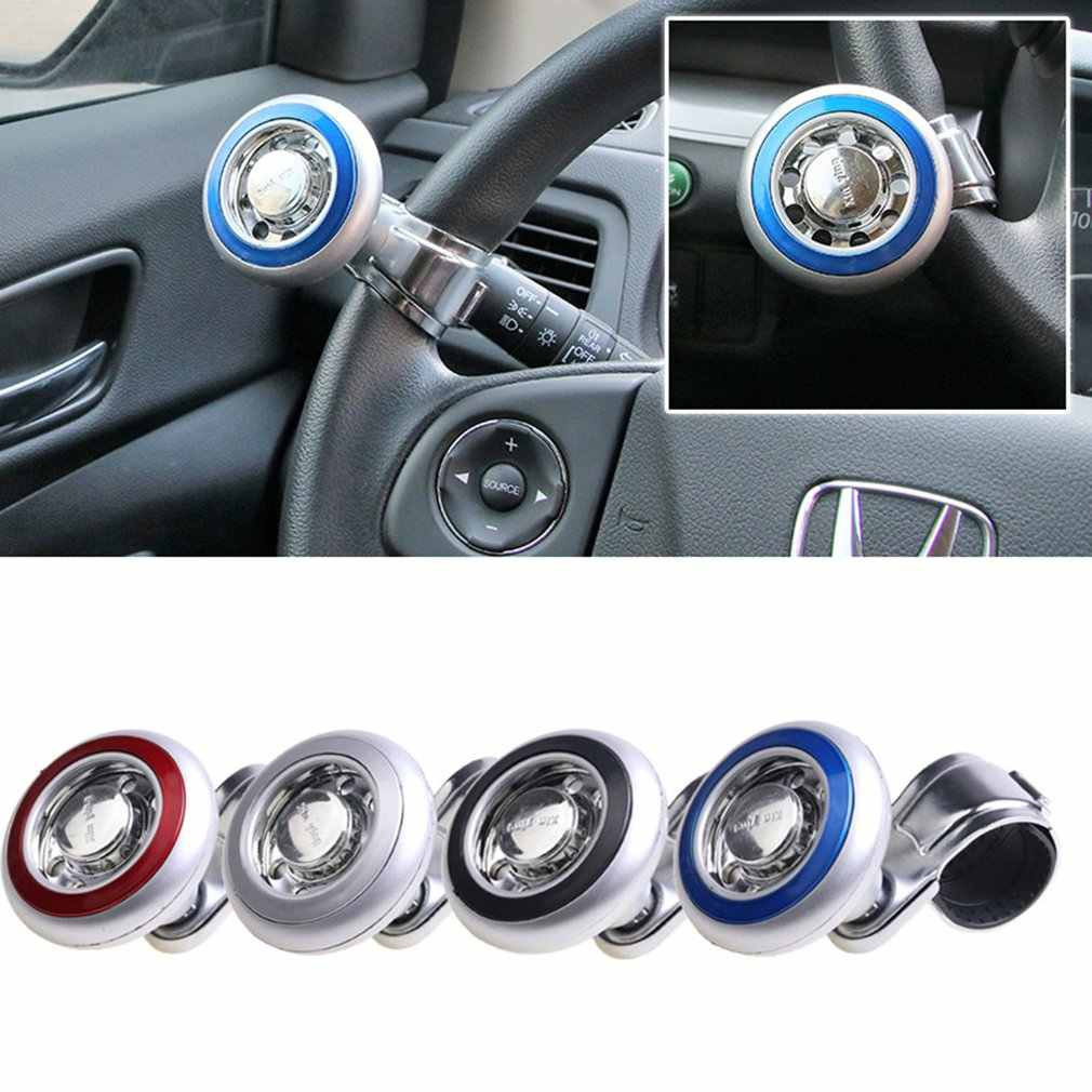 White Lunsom Girl Steering Wheel Knob Resin Car Handle Universal Suicide Spinner Turning Booster Aid Helper Stick Head Fit Most Automatic Manual Vehicle