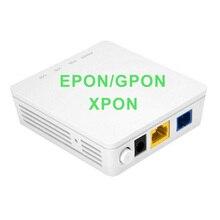 10 قطعة جديدة ONU XPON EPON/GPON Dual mode 1GE ONU ONU ONU مع منفذ Lan واحد ينطبق على Modems FTTH ، إصدار Termina باللغة الإنجليزية