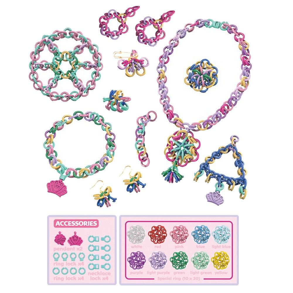 DIY пластиковый браслет игрушки со сменными бусинами Дошкольное обучение образование формы Дерево геометрический унисекс маленькая игра - 3