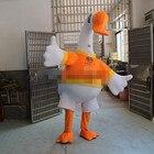 White Duck Mascot Co...