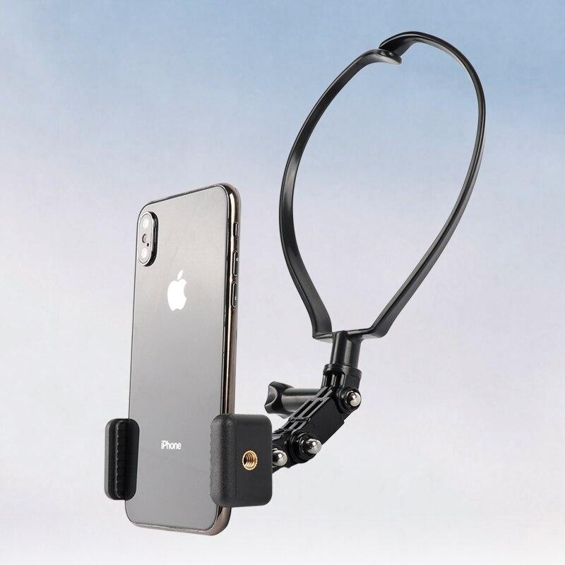 Для Gopro Hero 9/8/7/6/5 iPhone подвесная стойка для телефона Спортивная камера Шейное крепление ремешок держатель ремешок нагрудный фиксированный ба...