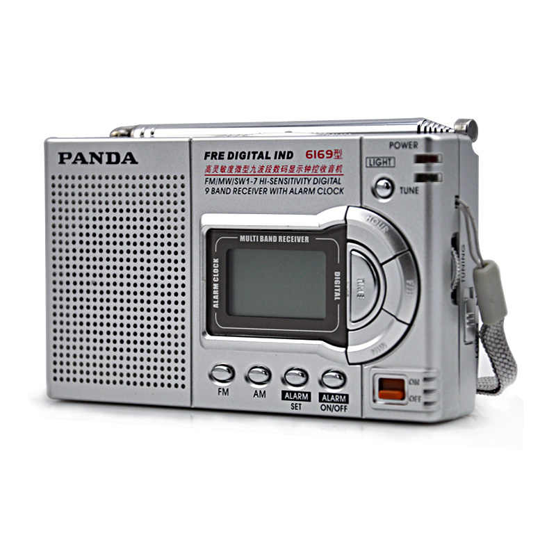Radio stéréo FM Portable recherche complète AM FM Radio stéréo puissance récepteur numérique Station de Radio Mini haut-parleur Support écouteur