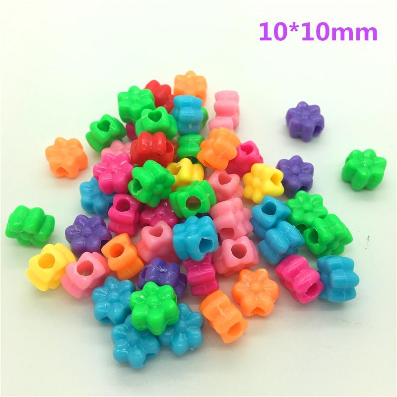 50 шт разноцветные акриловые бусины с перфорацией DIY серьги для изготовления ювелирных изделий ожерелье браслет аксессуары - Цвет: 05