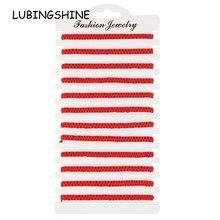 12 pçs/lote sólido trançado ajustável sorte corda vermelha pulseira de corda conjunto para mulheres homens jóias artesanais