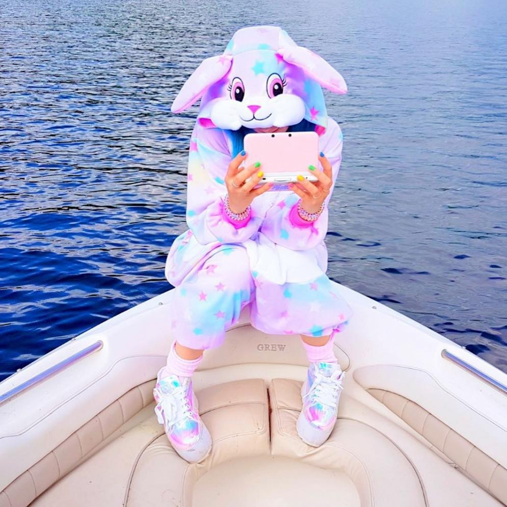 пижамаpijamasFlannel Star Rabbit Cartoon Animal One Piece Pajamas For Men And Women Performance Clothes Kigurumi