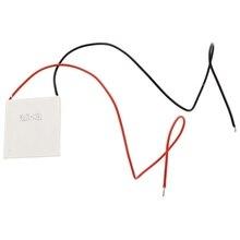 цена на New Hot 10pcs TEC1 12706 Heatsink Thermoelectric Cooler Peltier Cool Plate Module 12V 6A