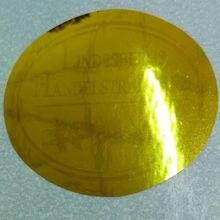 0.8 ו 2cm מותאם אישית נגד זיוף הולוגרמה מדבקה נשלף מדבקת כסף לייזר הולוגרפית מדבקות
