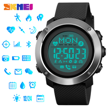 SKMEI Reloj Inteligent Smart Watch Fitness Heart Rate Tracker Pedometer Calorie Compass Call Remind Sport Smartwatch Wristbands