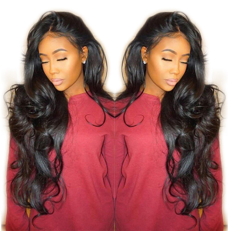 Pre Plucked 360 Lace Frontal Wig With Baby Hair Glueless 360 Full Lace Wig Body Wave Lace Front Wig Human Hair For Black Women