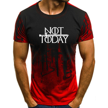 New Men T-Shirts NOTTODAY Printed Short Sleeves Camouflage Tops T Shirt Plus Size S-4XL