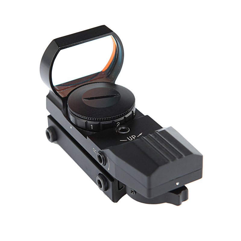 Hot 20mm Holographic Optical Hunting Rifloscope Red Dot Sight Reflex 4 Reticle Scope Tactical Scope Collimator