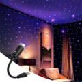 Фонари на крышу автомобиля Романтический USB ночник Атмосфера лампы украшение для потолка свет не требует настройки автомобиля Подсветка са...