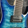 Beautiful POD-Sky7-  7-string electric guitar blue 1