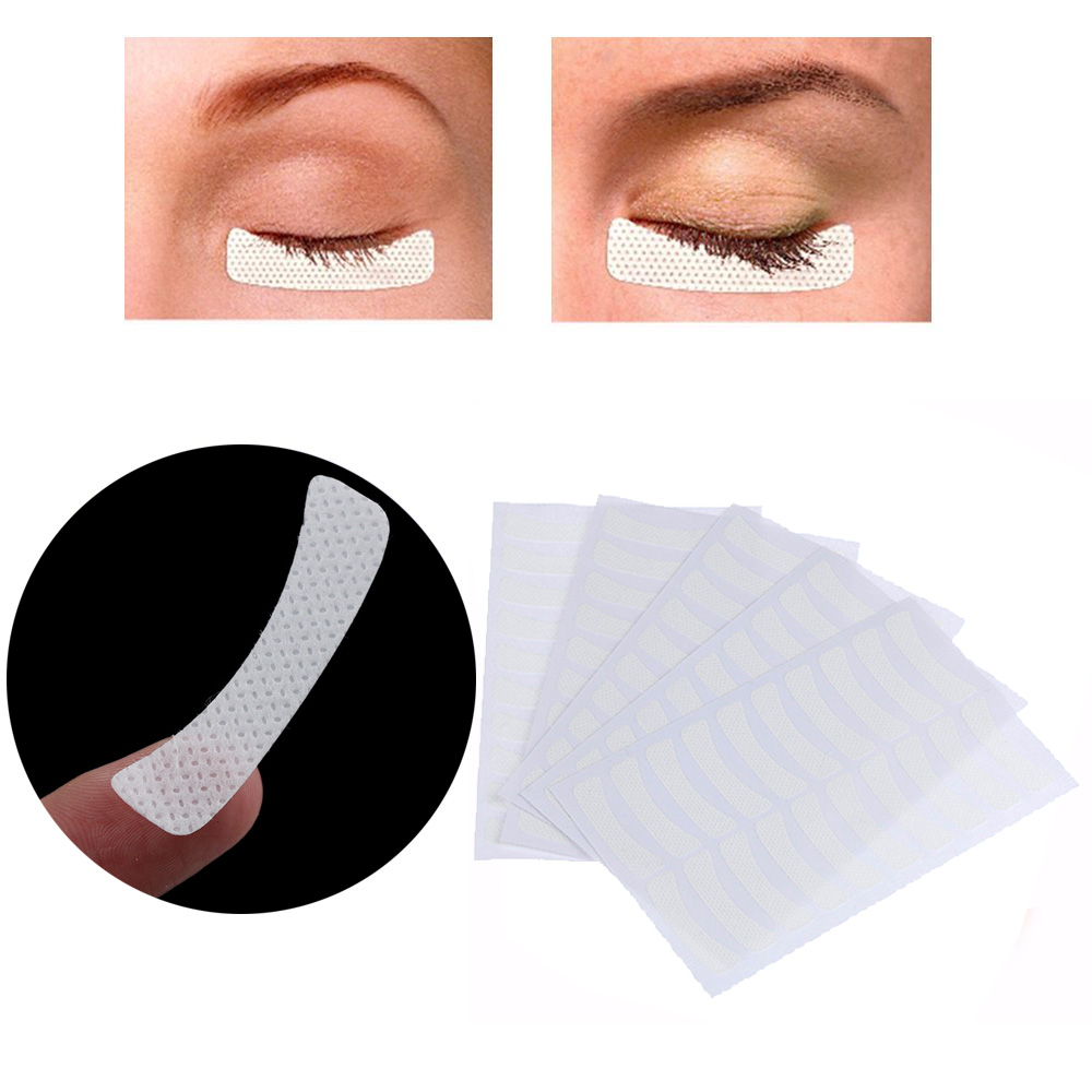 100pcs Magnetic Eyelashes White Eye Eyelash Extension Fabric Pads Stickers Patches Adhesive Tape Ciglia Magnetiche Makeup Tools