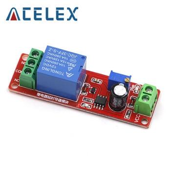 DC 12V Timer Delay Relay Shield Module NE555 Timer Switch Adjustable Controller Module 0 To 10 Second 0~10S Car Oscillator