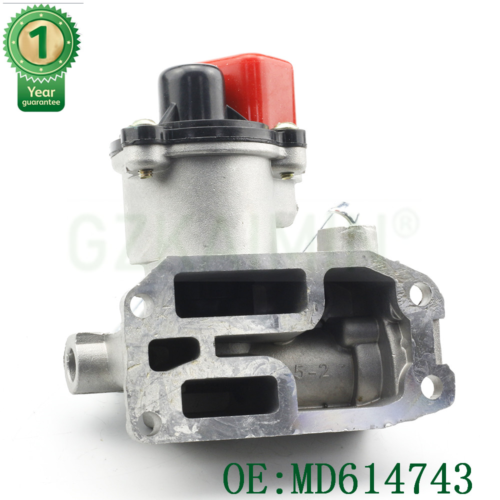 high quality MD614743 1450132 new  Idle Air Control Valve for Mitsubishi MIRAGE For Mitsubishi Mirage OE#: MD614743 / AC4148|mirage mitsubishi|valve control|valve air - title=