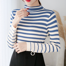 Korean Fashion Women Sweater Thin Pullovers Knitted Sweaters and Winter Clothes Knit