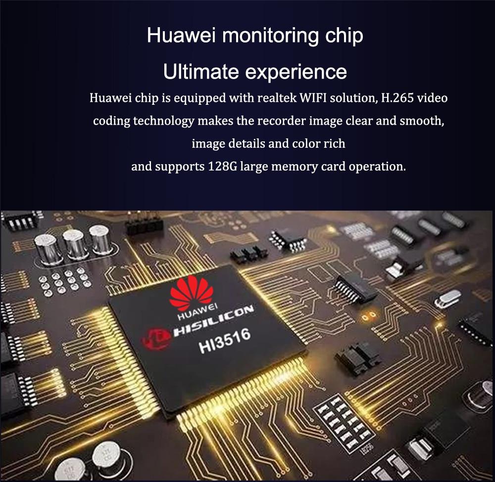 Huawei monitoring chip