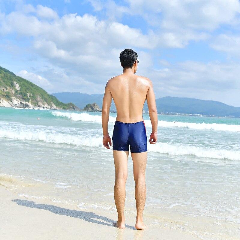 2018 Swimming Trunks Men Boxer Swimming Trunks Bathing Suit Short Adult Bubble Hot Spring Loose-Fit Beach Swimwear Seaside Equip