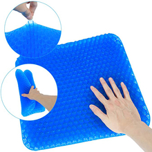 Seat-Cushion Mesh-Seat Home-Chair Honeycomb-Design Office Silicone Gel TPE No with Non-Slip
