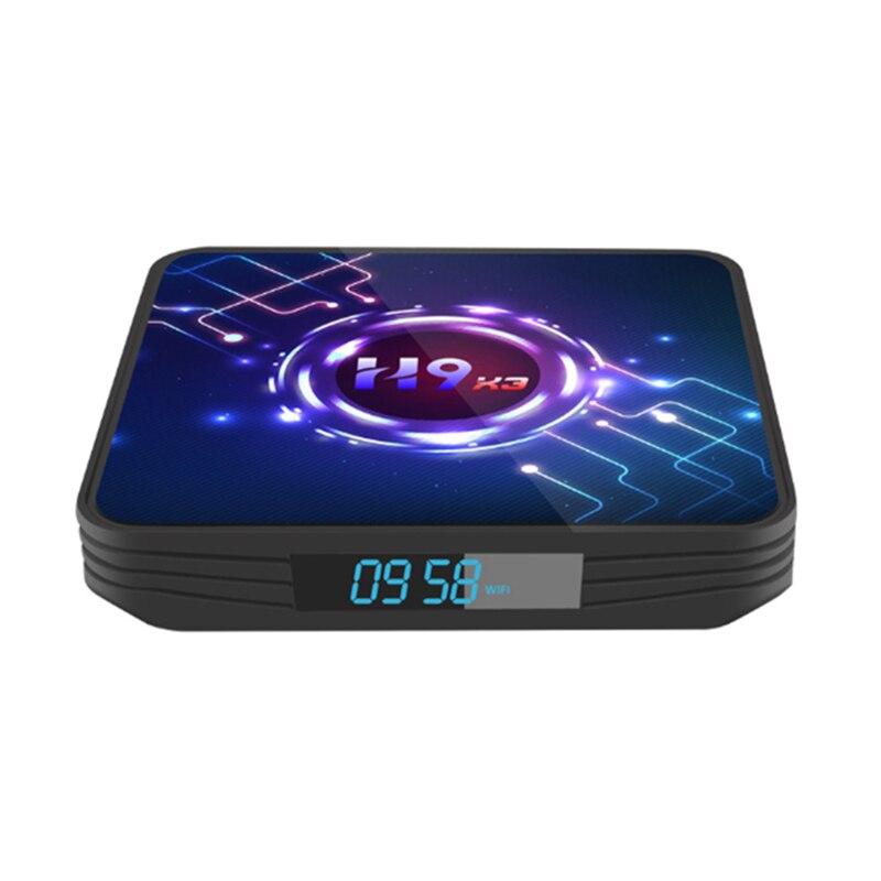 H9-X3 tv, pudełko S905X3 4 + 64G Dual WiFi Bluetooth 8K dekoder sieciowy