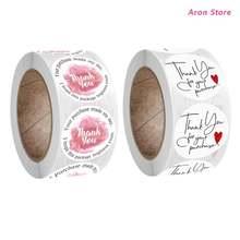 500 шт/рулон круглые наклейки для скрапбукинга