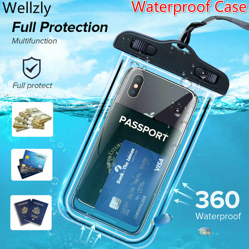 IP68 Universele Waterdichte Telefoon Case Water Proof Bag Mobiele Telefoon Pouch Pv Cover Voor Iphone 11 Pro Xs Max Xr X 8 7 Galaxy S10