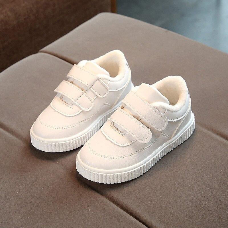 flexível para meninos e meninas, sola de couro branco e preto rosa