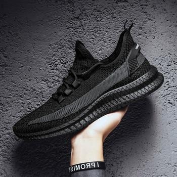 цена Men Shoes Comfortable Anti Slip Male Shoes Outdoor Walking Sneakers Men 2019 Summer  Light Weight Running Shoes for Men онлайн в 2017 году