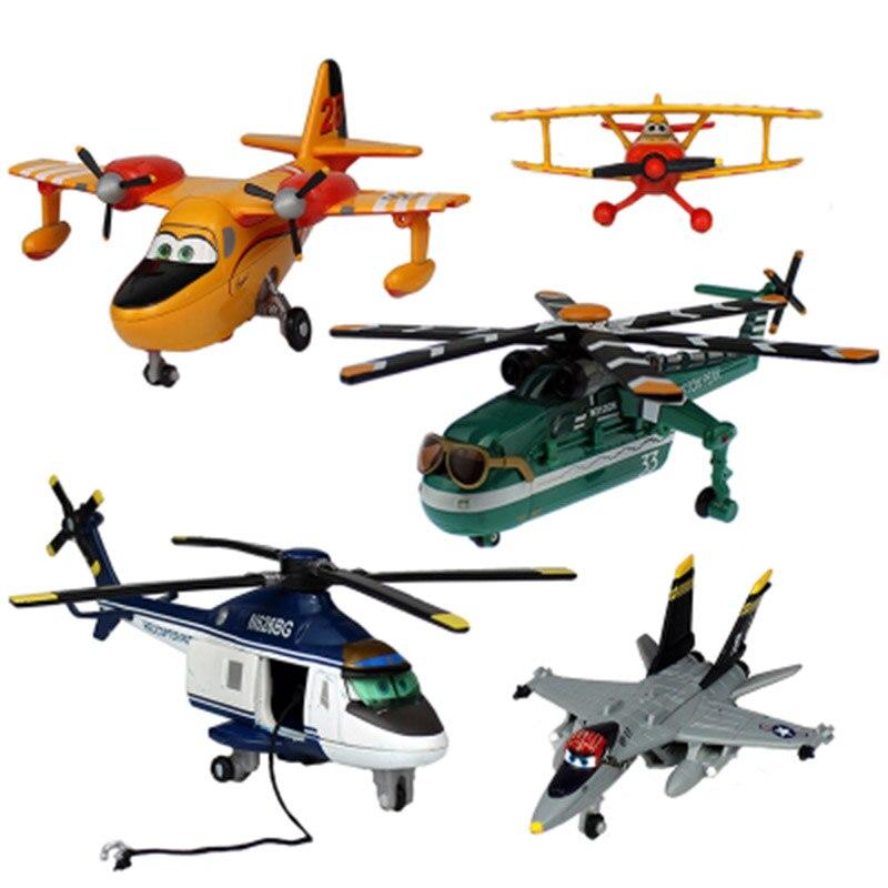 Original Disney Pixar Planes Dusty Crophopper El Chupacabra Skipper Ripslinger Metal Diecast Model Plane Toy For Children