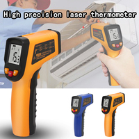 400 600 Centidegree infrared thermometer Non contact industrial and household digital Infrared Pyrometer Infrared Thermometer|Temperature Instruments| |  -