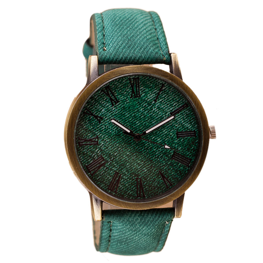 2020 Simple Watch Business Men Retro Vogue Male WristWatch Cowboy Fashion Leather Analog Quartz Watch Man Clock 4