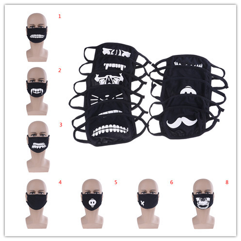 Cute Anime Mouth Muffle Face Mask Emotiction Masque Cartoon Kpop Masks Anti Dust Mask Kpop Cotton Mouth Mask 11 Styles 1