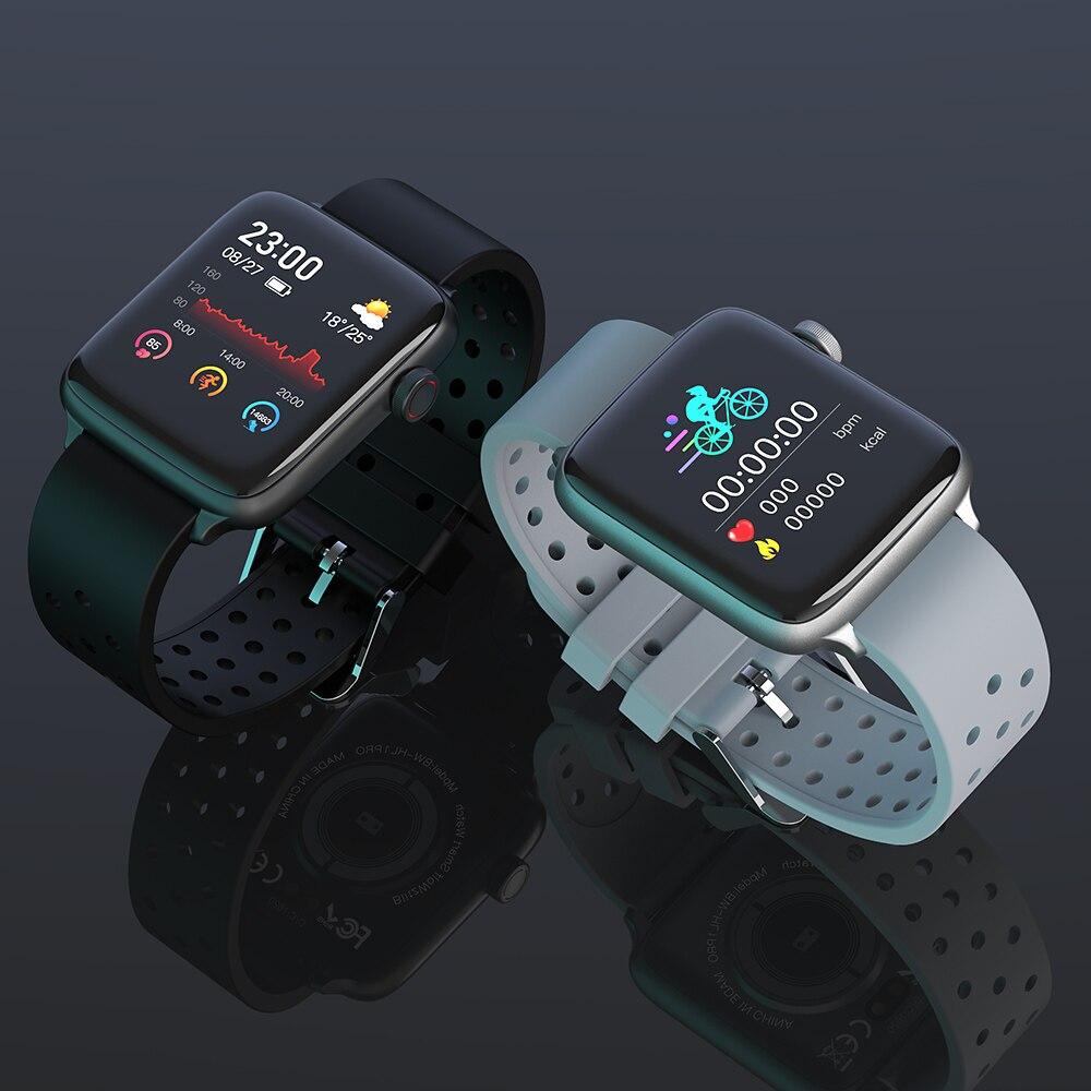 BlitzWolf BW-HL1Pro Smart Watch Smartwatch 2020 Watches for Men Women Kids Whatch Wach Fitness Tracker Heart Rate Blood Monitor 5