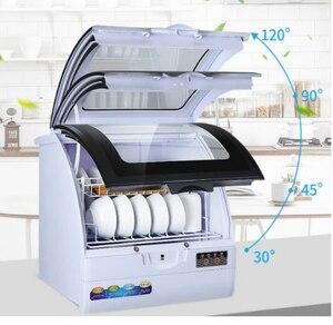 Image 3 - Voll automatische haushalt spülmaschine desktop kleine wärme desinfektion spray typ geschirr maschine