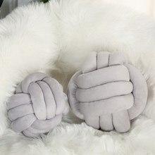 Pillow Cushion Plush-Throw Stuffed Home-Decor Nordic-Style Soft Bed Ball