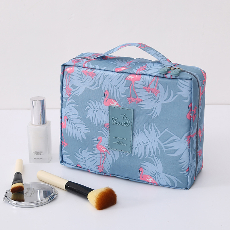 2019 New Multifunction Travel Cosmetic Bag Woman's Bag Makeup Bags Dressing Table Organizer Female Waterproof Storage Make Cases