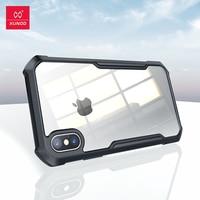 Per custodia iPhone X XS, custodia Airbag Xundd, per Cover iPhone X XS, paraurti Airbag protettivo Cover trasparente per telefono