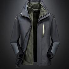 Men Fashion Hoodie Hat Detachable Windbreaker Waterproof Jacket Breathable Sport Outdoor Coat Softshell Fleece Jacket Mujer 2019 judas priest judas priest original album classics 5 сd
