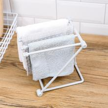 Foldable Dishcloth Towel Storage Rack Bottle Cup Dry Racks Cup Drain Stand Towel Cloth Drying Holders  for Kitchen Bathroom