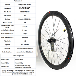 Image 2 - Elite Carbon Räder Disc Bremse 700c Rennrad Laufradsatz ENT UCI Qualität Carbon Felge Mit Center Lock Oder 6 blot Bock Straße Radfahren