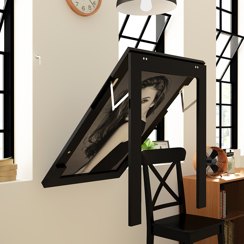 European Style Simple Wall Table Small Family Wall Hanging Desk Computer Desk Office Wall Connected Desk Creativity