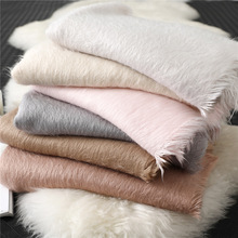 2020 Hijab Hot Selling New Winter Warming Thickening Pure Cashmere Scarf Female Shawl Bandana Cachecol Women Scarves Pashmina