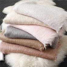 2020 ヒジャーブホット販売新冬の温暖化の肥厚純粋なカシミヤスカーフ女性ショールバンダナ cachecol 女性スカーフパシュミナ