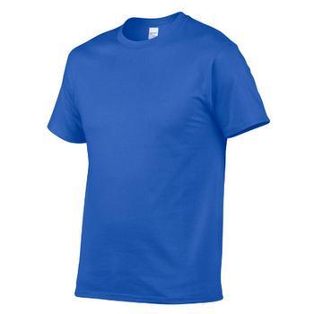 Para hombre blanco y negro 100% de algodón camisetas verano skate camiseta...