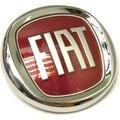 (1 шт.) значок переднего бампера Fiat Linea, Fiat 500, Grande Punto, panda, значок/эмблема переднего бампера 51804366, новый Fiat 2007-2015 (95 мм)